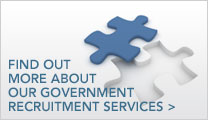 Find out more about our government recruitment services